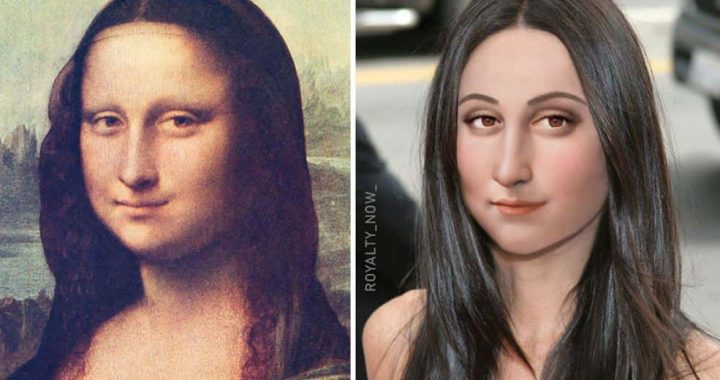Here's How Mona Lisa And Others Would Have Looked Today!