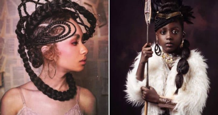 Couple Takes Photos Of Young Models To Capture The Beauty, Culture, And Heritage Of Afro Hairstyles For Celebrating Their Royal Past And I Must Say, It's Very Intriguing!