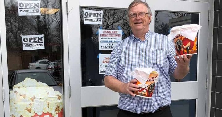 Cinema Owner Sells Popcorn To Help Pay Employees, Says He Will Do Everything He Can To Fight The COVID-19 Outbreak!