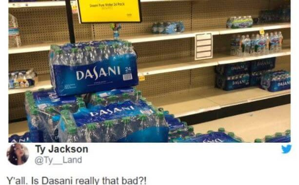 People Are Terror Buying Food, Water, And Toilet Paper Due To Covid-19 Outbreak, Yet No One Is Ready To Buy Dasani Water!