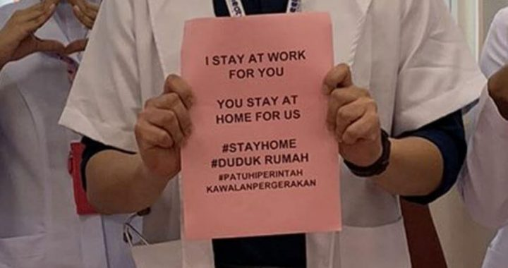 Doctors Are Uniting In Urging People To Stay At Home While Covid-19 Outbreak!