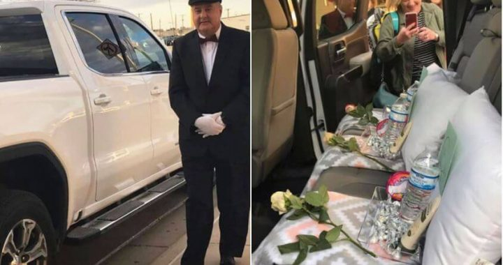Husband Cheered Up His Wife By Dressing Up As Chauffeur To Pick Her Up At The Airport, And That's A 'Life-Lesson!'