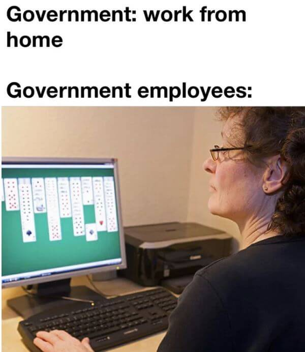 'Work From Home' Memes Of Some Jobs Not Being Easy To Do ...