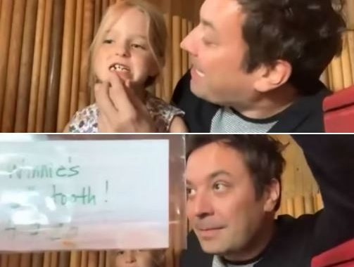 Jimmy Fallon's Daughter Loses A Tooth, And The Internet Can't Help But Collectively D'AW!