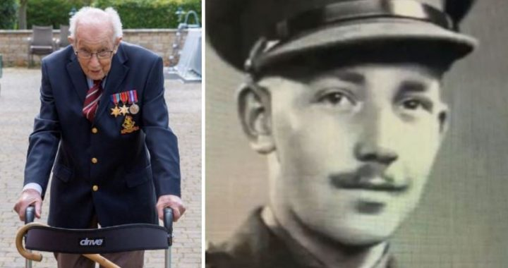 99-Year-Old Army Veteran, Tom Moore, Raises £9.4 Million For NHS, Says They Deserve Every Penny And More!