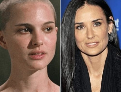 These Actresses Got Bald, And It Made Them So Much Attractive That I Couldn't Be More Obsessed Again!