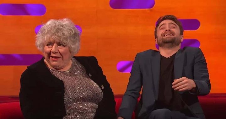 Daniel Radcliffe Had An NSFW Reunion With Professor Pomona Sprout, And I Am…WHAT!