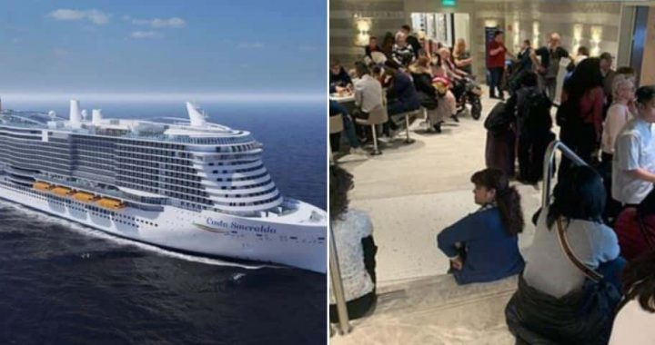 Cruise Ship Carrying Over 7,000 Passengers Hit By 'Coronavirus Fears'