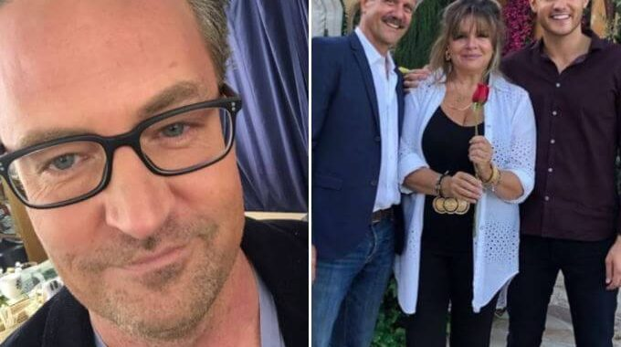 "Matthew Perry Mocked ""Bachelor"" Fans To Get Off His Lawn, And People Say It's FUNNY!"