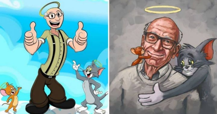 Artists Pay Their Deep Respect And Love To The Late Gene Deitch, The Illustrator Of Tom & Jerry And Popeye! (14 Pics)