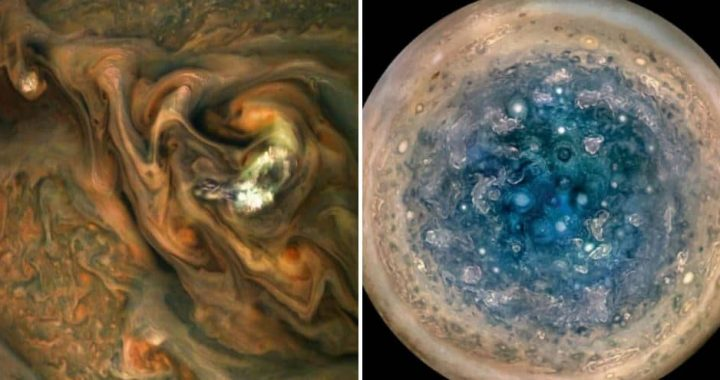 Here're Some Incredible High-Def Satellite Pics Of Jupiter Released By NASA!
