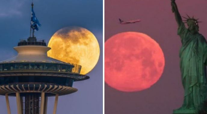 Here Are People Sharing Marvelous Pictures Of The Last Supermoon Of 2020!